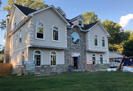 After Picture: Residential New Construction