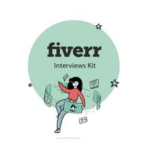 Fiverr's Interview Kit (Illustration & Design)