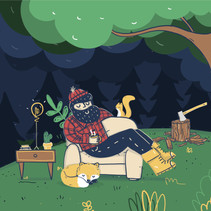 Hero Image Illustration for ZenGuy