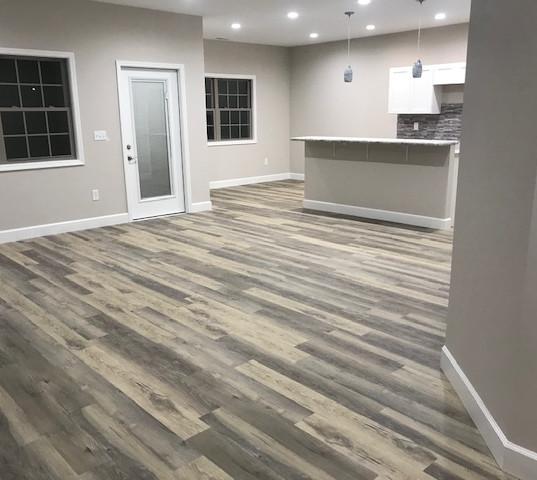 Family Area - Unit 1 Open floor plan to kitchen