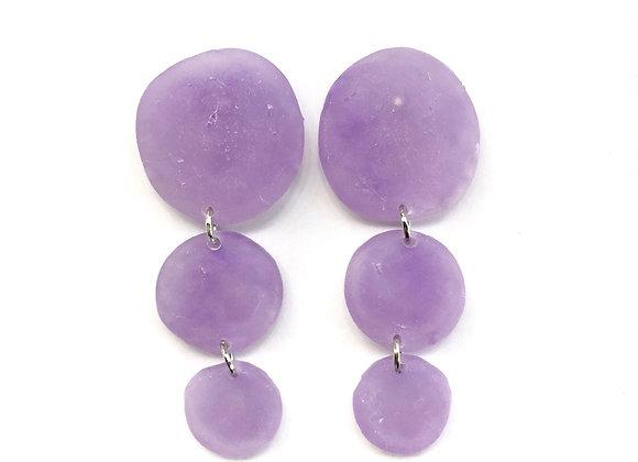 Lavender Garden Earrings