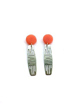 Red Dulcet Earrings