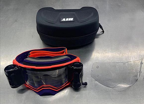 Air 1 Orange and Purple Goggle