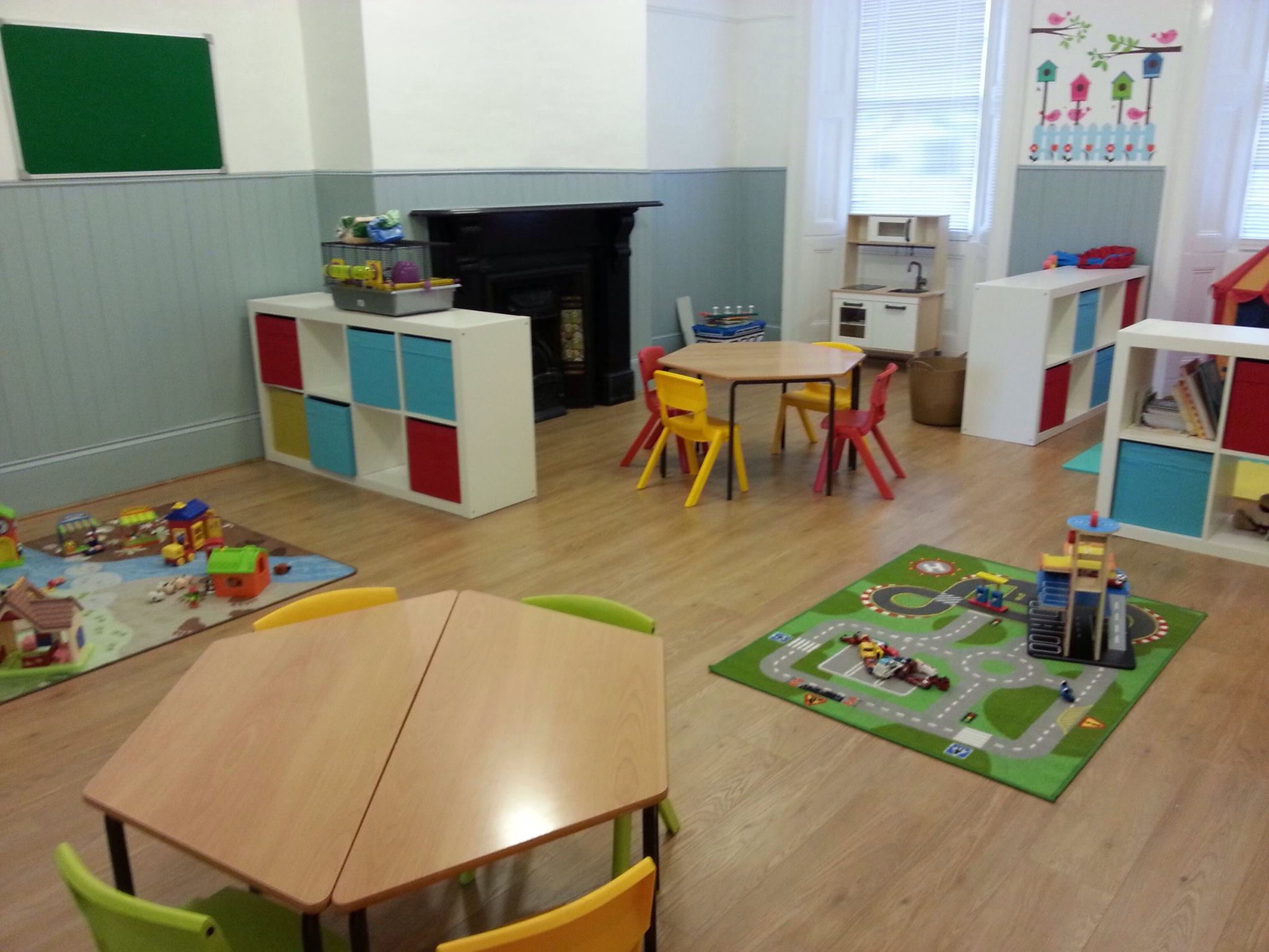 The Pre School room on the 1st floor