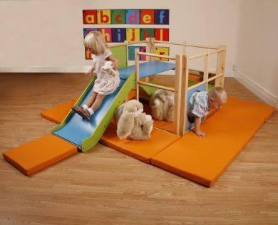 Indoor Toddler Playframe