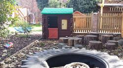 Log cabin play house