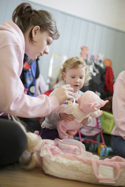 Dolls & learning to care