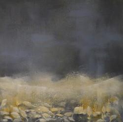 Tidløs, 60x60cm, akryl