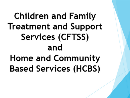 HCBS and CFTS  101 for Care Managers: Understanding the Differences Between HCBS and CFTS Programs.