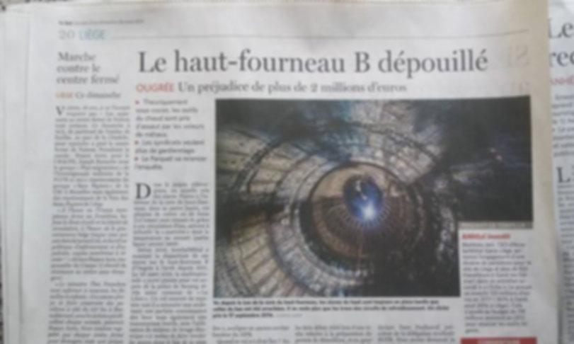 Article dans le journal La Meuse 03-2017