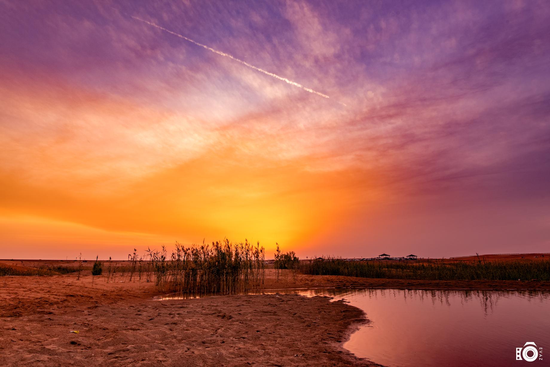 Sunset at Zakher