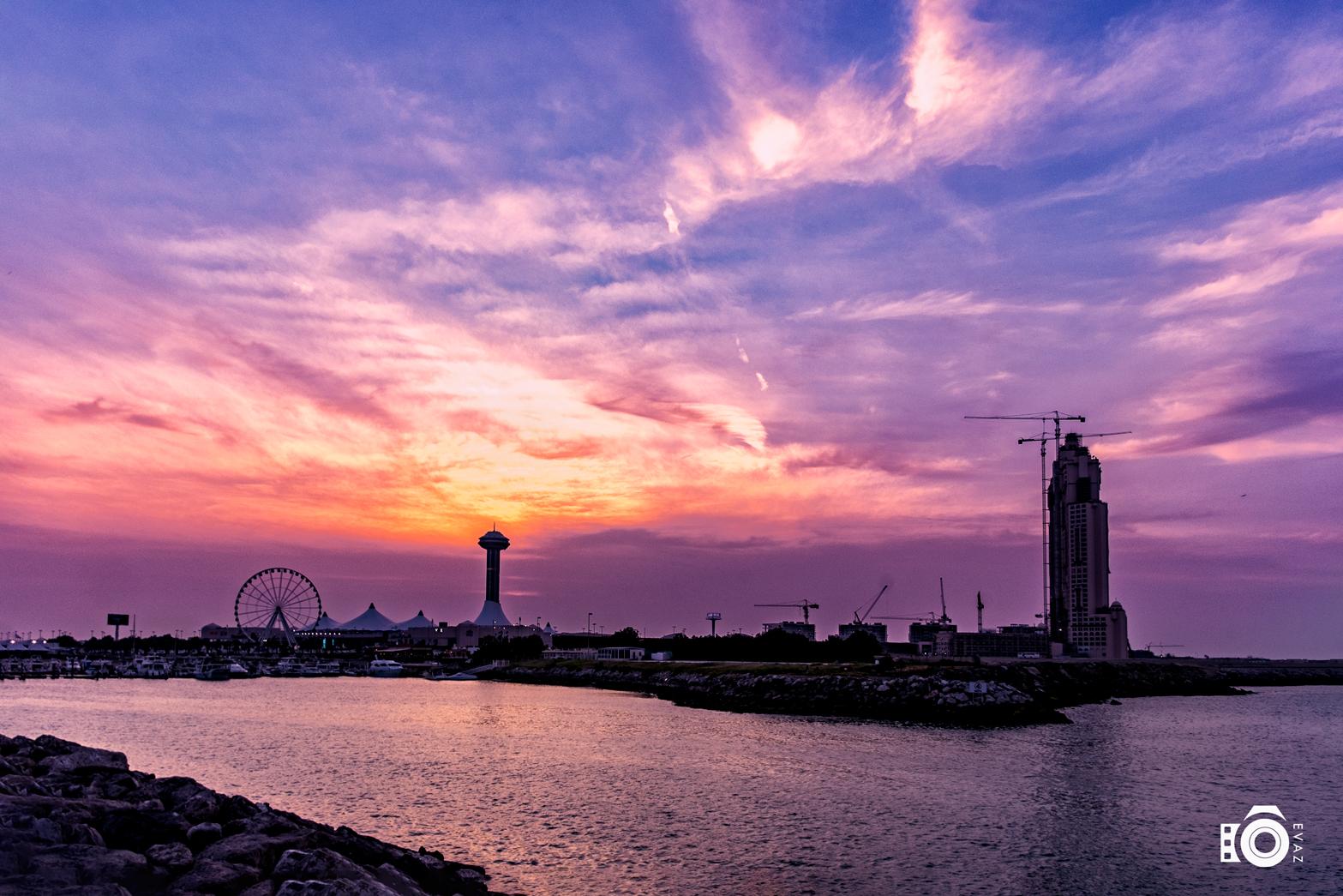 Abu Dhabi Marina Landscape
