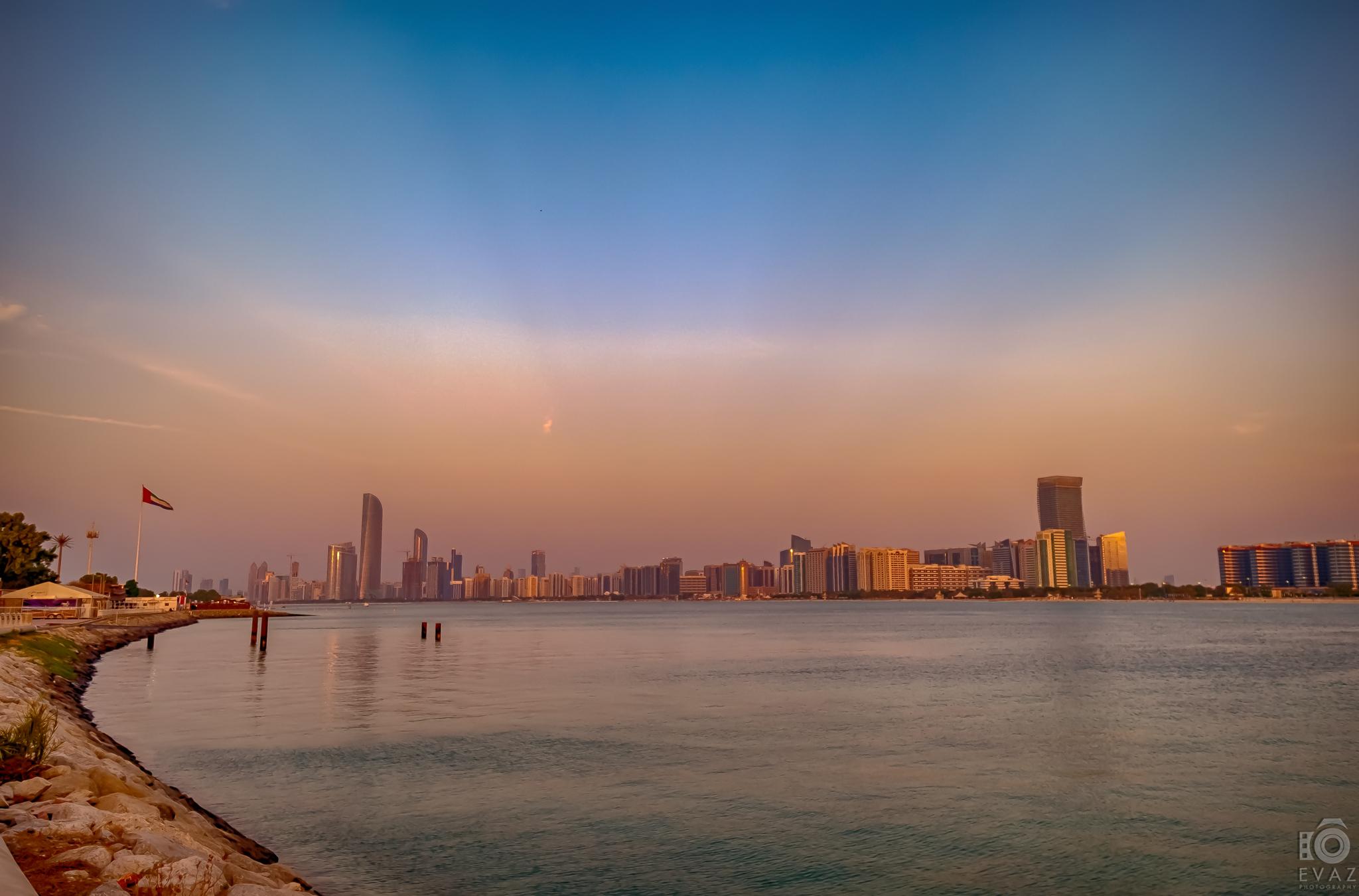 Abu Dhabi Landscape - Break water