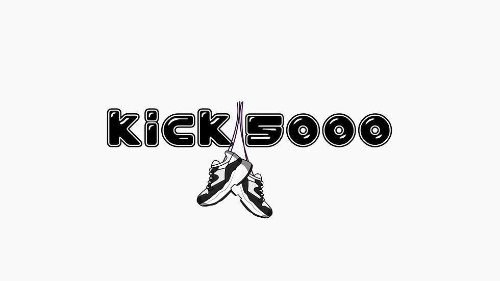 Kick 5000 logo blk & wht