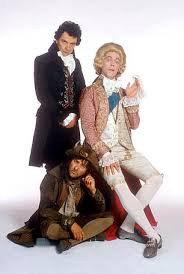 Blackadder, the Prince of Wales and Baldrick