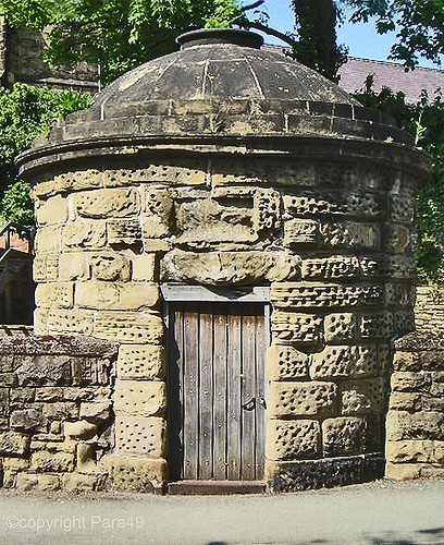 The round house lock-up