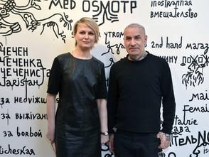 Solo exhibition of Babi Badalov «Je suis Mazimir Kalevich» Curator Danita Pushkareva