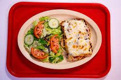 Chicken Lasagna Plate