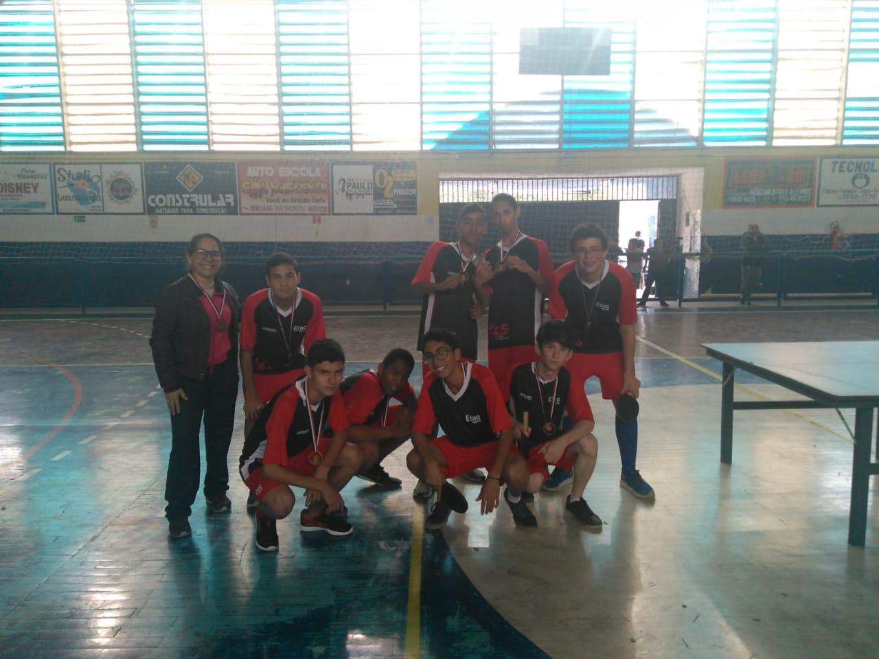 Equipe de Tênis de Mesa