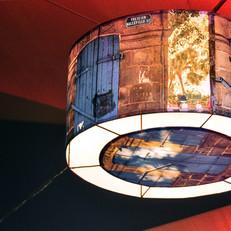 EXTERIOR LAMPSHADE INSTALLATION