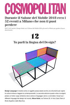 Press: Cosmopolitan Design Magazine