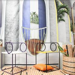 2 Moris Collection Seats at the Milan Design Market
