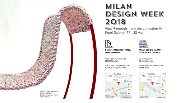 Fuori Salone 2018, Online Invitation