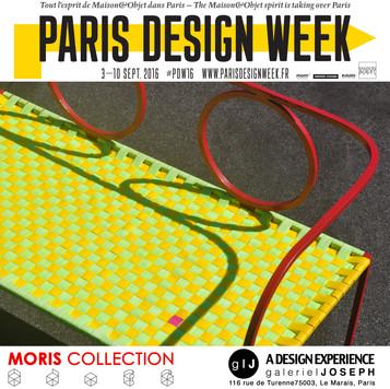 Moris Collection @ Paris Design Week