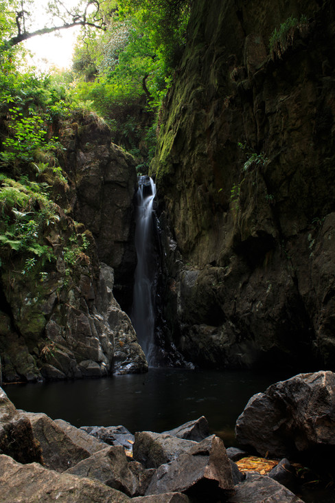 Stanley Ghyll Waterfall, Lake District National Park, England