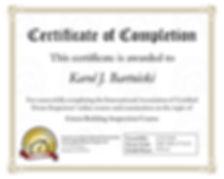 Green Building Inspection Certificate.jp