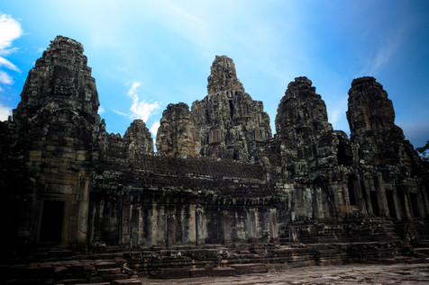 Bayon Temple Siem Reap, Cambpdia