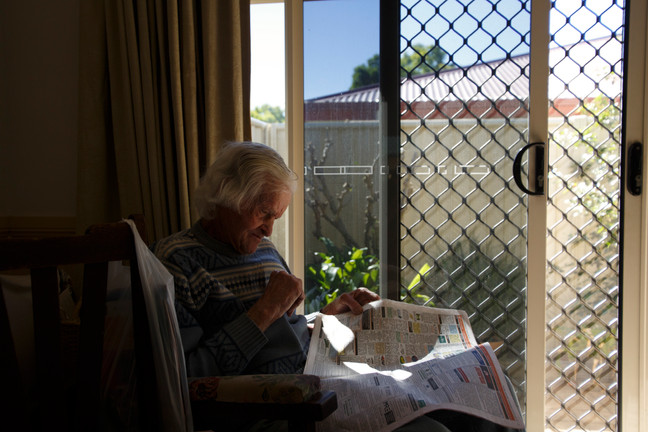 While well and truly retired from farm work, Chinchilla resident John Lithgow continues to instinctively read the local farming equipment classifieds.