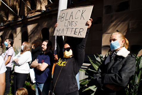 004_Black Lives Matter Protest Brisbane_