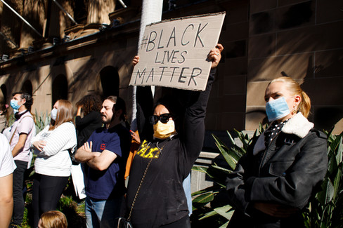 004_Black Lives Matter Protest Brisbane_