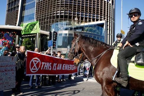 0240Extinction Rebellion Protest Brisban