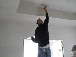 Texturing Tray Ceiling