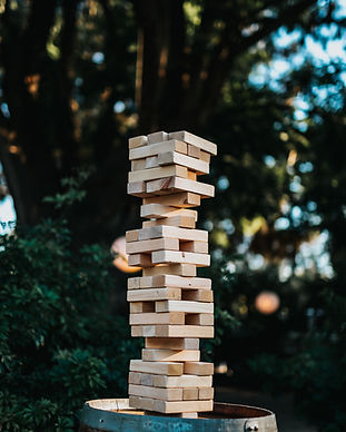 Jenga blocks photography