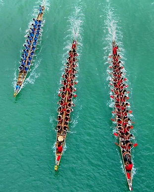 dragon boat festival team race