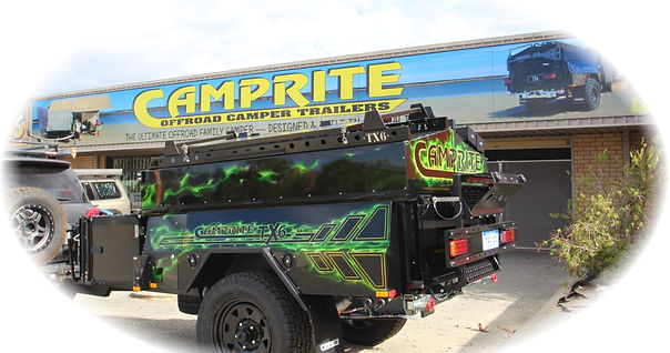 Camprite off road family campers