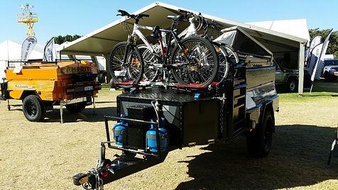 Swing ver bike rack.