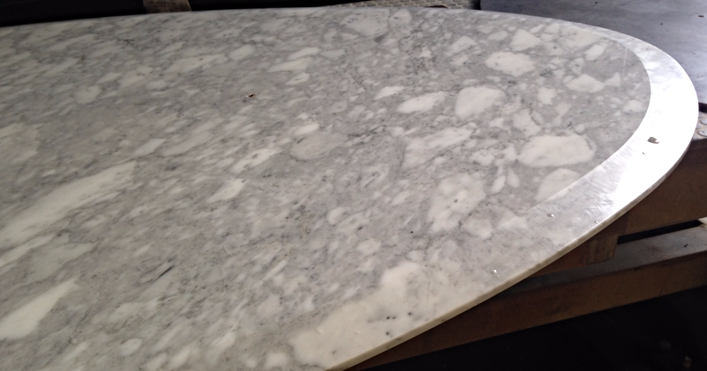 Plateau marbre Arabescato