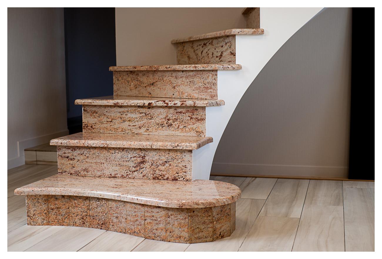 Escalier Granit Shivakasi