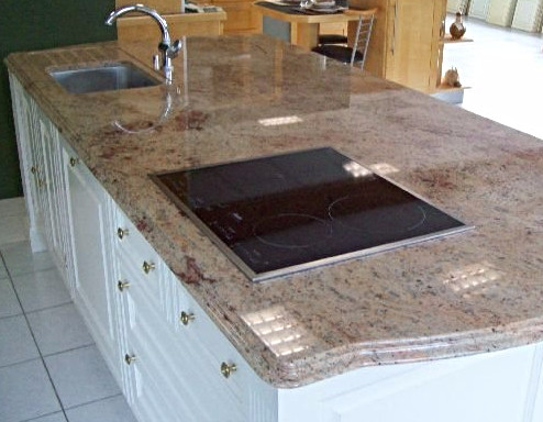 Plan de cuisine en Granit Shivakashi