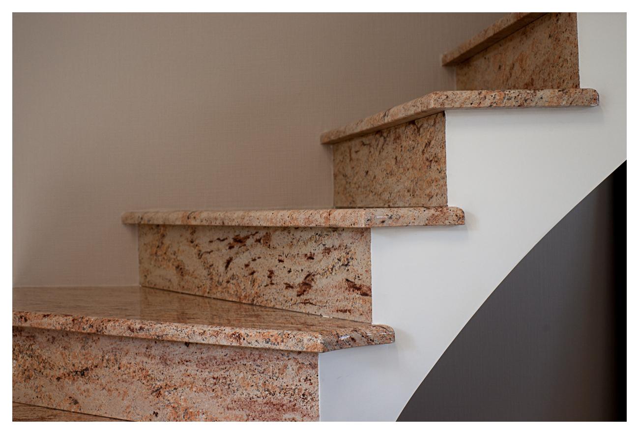 Escalier Granit Shivakasi 2
