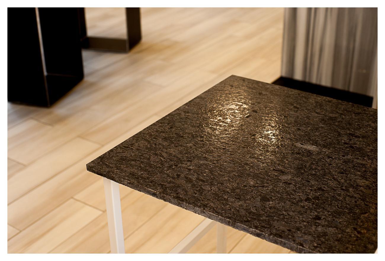 Plan de travail Granit Steelgrey