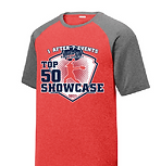 2-Tone red shirt grey sleeves t-shirt.pn