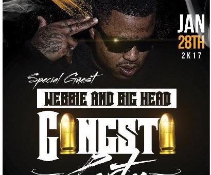 Beezy Boy #GangstaParty 1/28