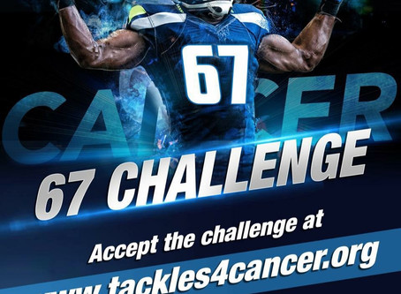 Accept the Challenge www.tackles4cancer.org