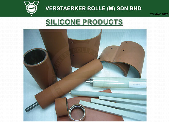 SILICONE RUBBER PRODUCT ROLLERS COATING