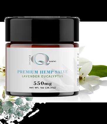 Premium Hemp Extract Salve with Lavender and Eucalyptus 500 mg